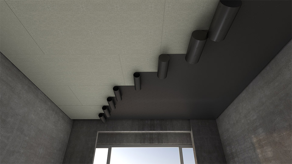 hotel-ceiling installation5