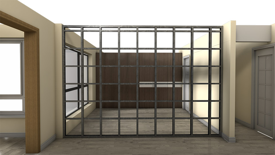 residential-alu wall installation1